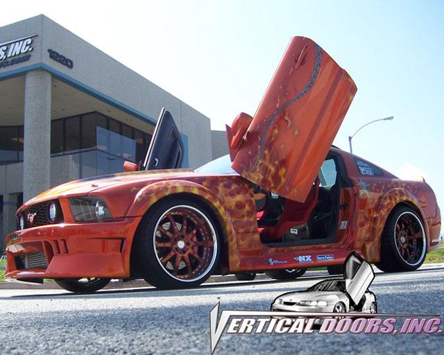 2005-2010 Ford Mustang Lambo Door Kit